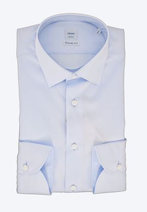 Picture of Light blue cotton panama shirt