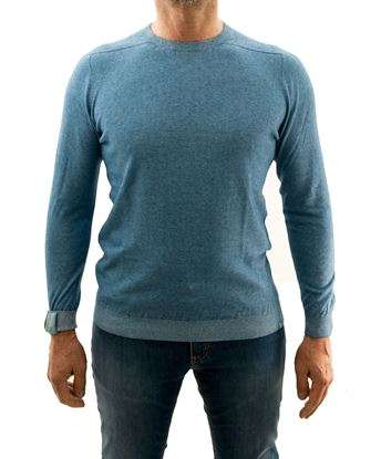 Picture of J-Class 2-Shade cotton and cashmere crew-neck