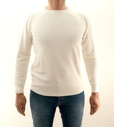 Picture of Camogli white cotton crewneck
