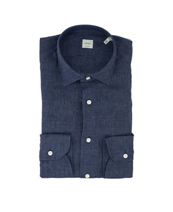 Picture of Blue washed linen shirt