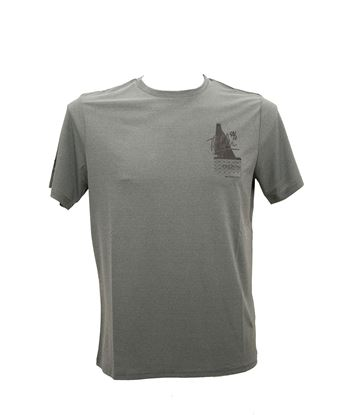 Picture of HP CIRCUM T-SHIRT GREY MELANGE