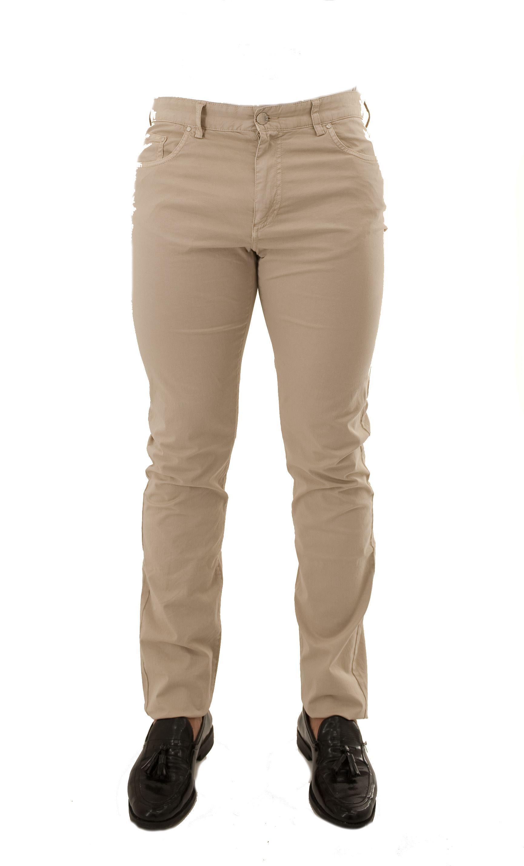 Immagine di Pantalone in cotone 5 tasche