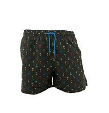 Picture of Fancy black swim shorts