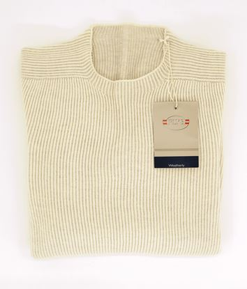 Picture of Fly3 WEATHERLY CREW NECK RIB KNITTED REVERSABLE SWEATER