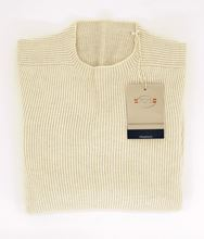 Picture of Crew neck rib knitted reversable sweater