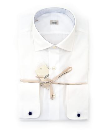 Picture of white shirt with French cuff