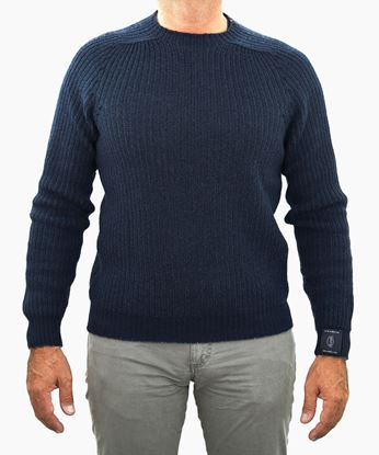 Picture of Tamata sweater colour Navy blue/Xwhitely
