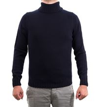Picture of Blue high-necked sweater