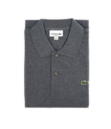 Picture of Long sleeve chiné polo