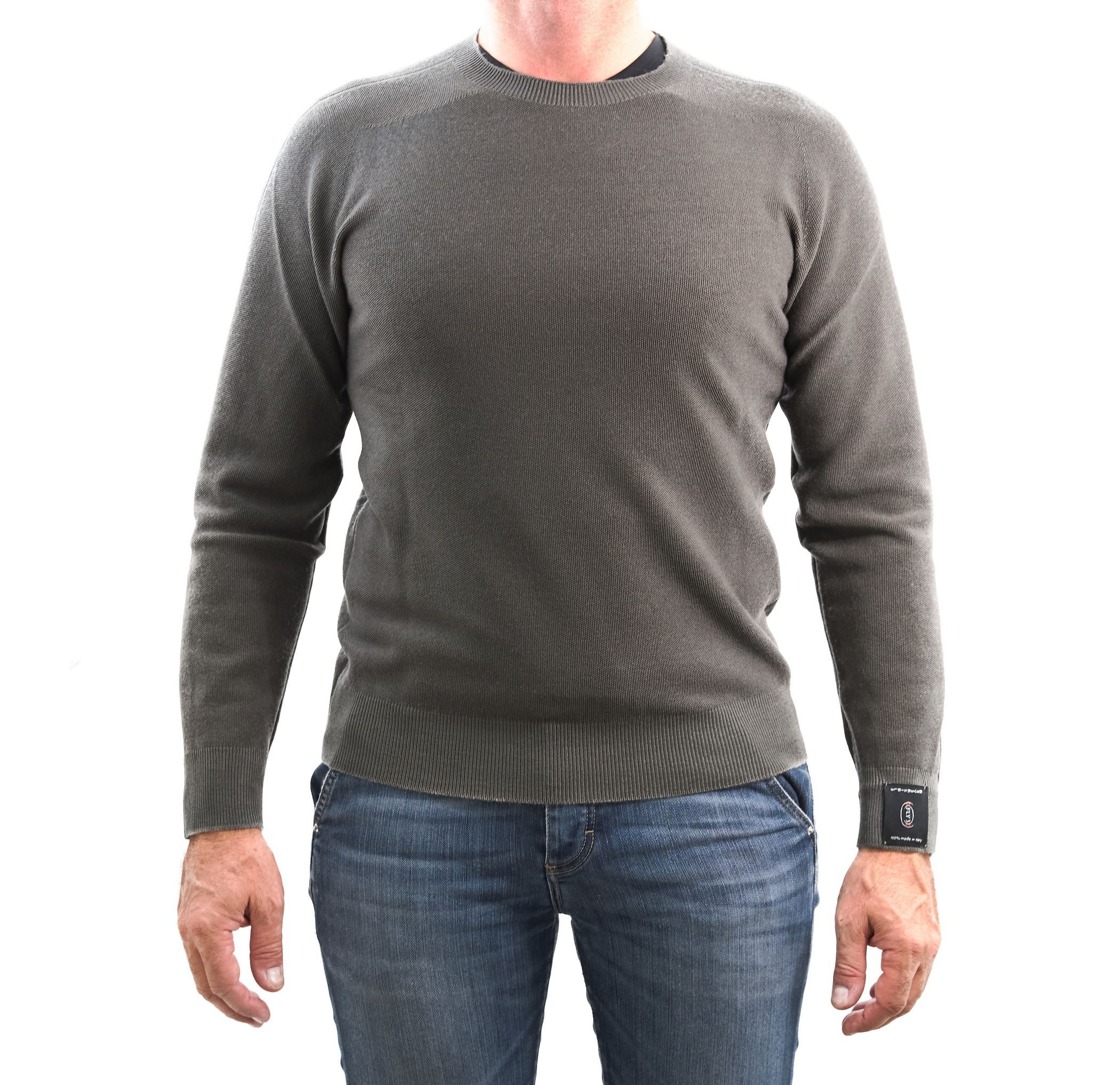 Picture of Camogli merino wool crewneck