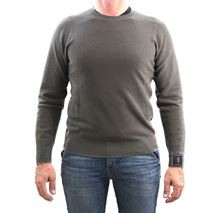 Picture of Camogli merino wool crewneck colour grey