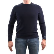 Picture of Camogli merino wool crewneck colour blue