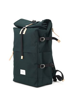 Picture of Bernt dark green w/leather