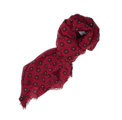 Immagine di Sciarpa in lana disegno cravatta
