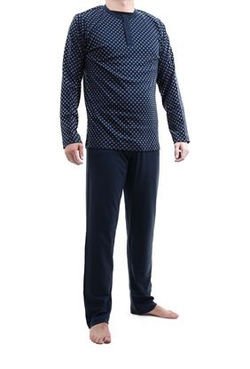 Picture of Men's Cotton Pyjamas, 3 buttons