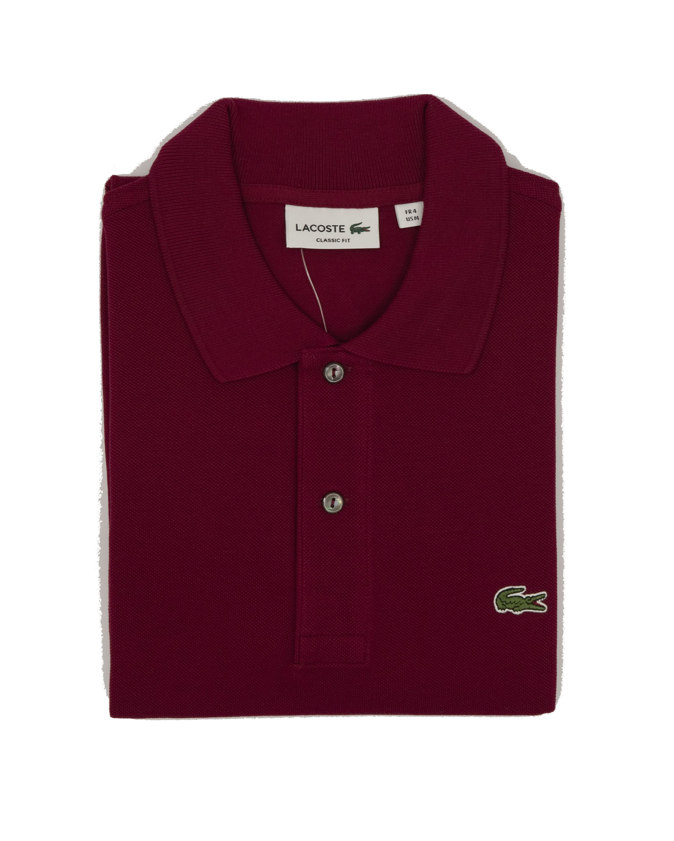 Picture of Lacoste Polo Burgundy