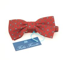 Picture of burgundy background bow tie