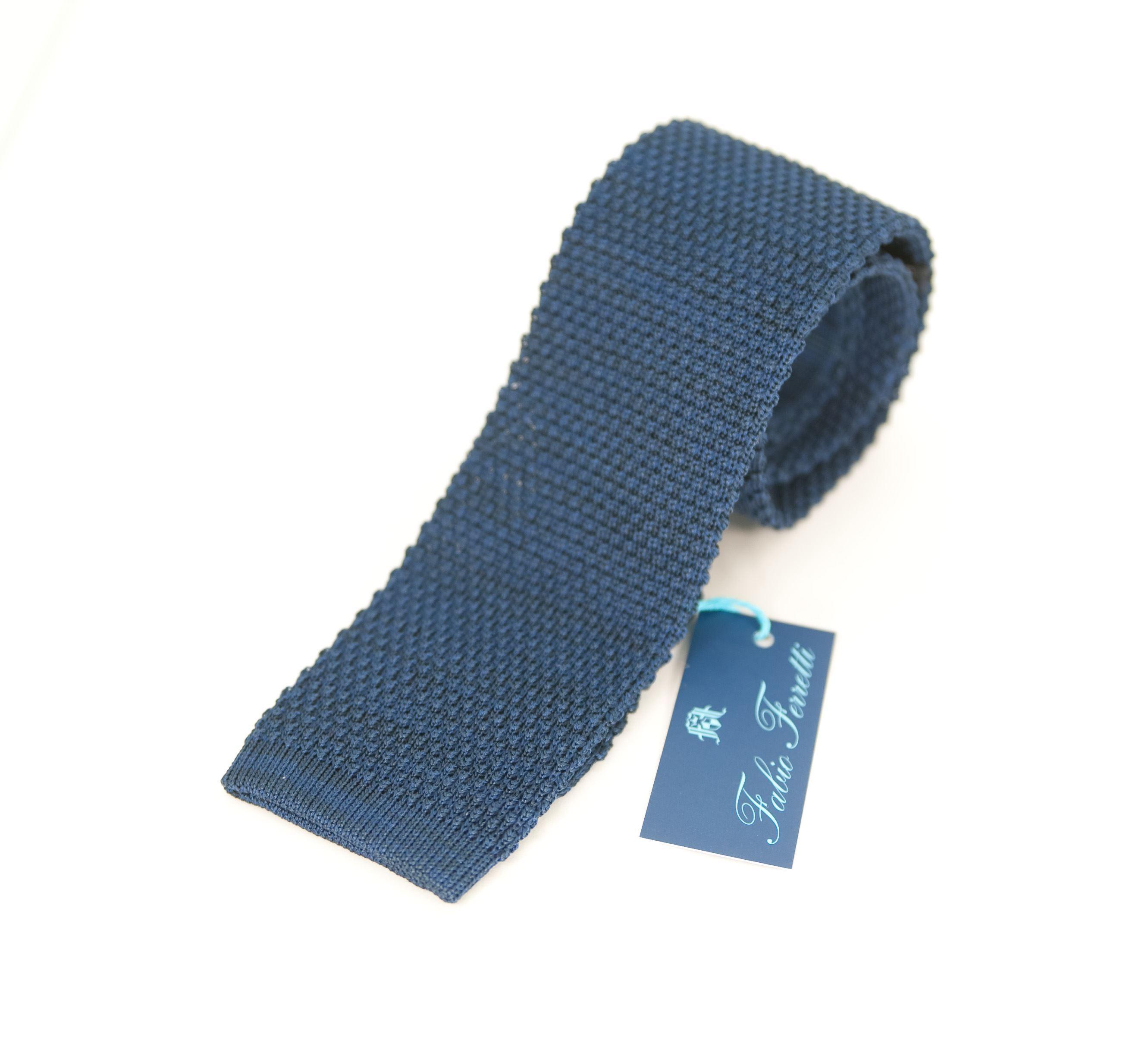 Picture of Cravatta in maglia Seta Cotone