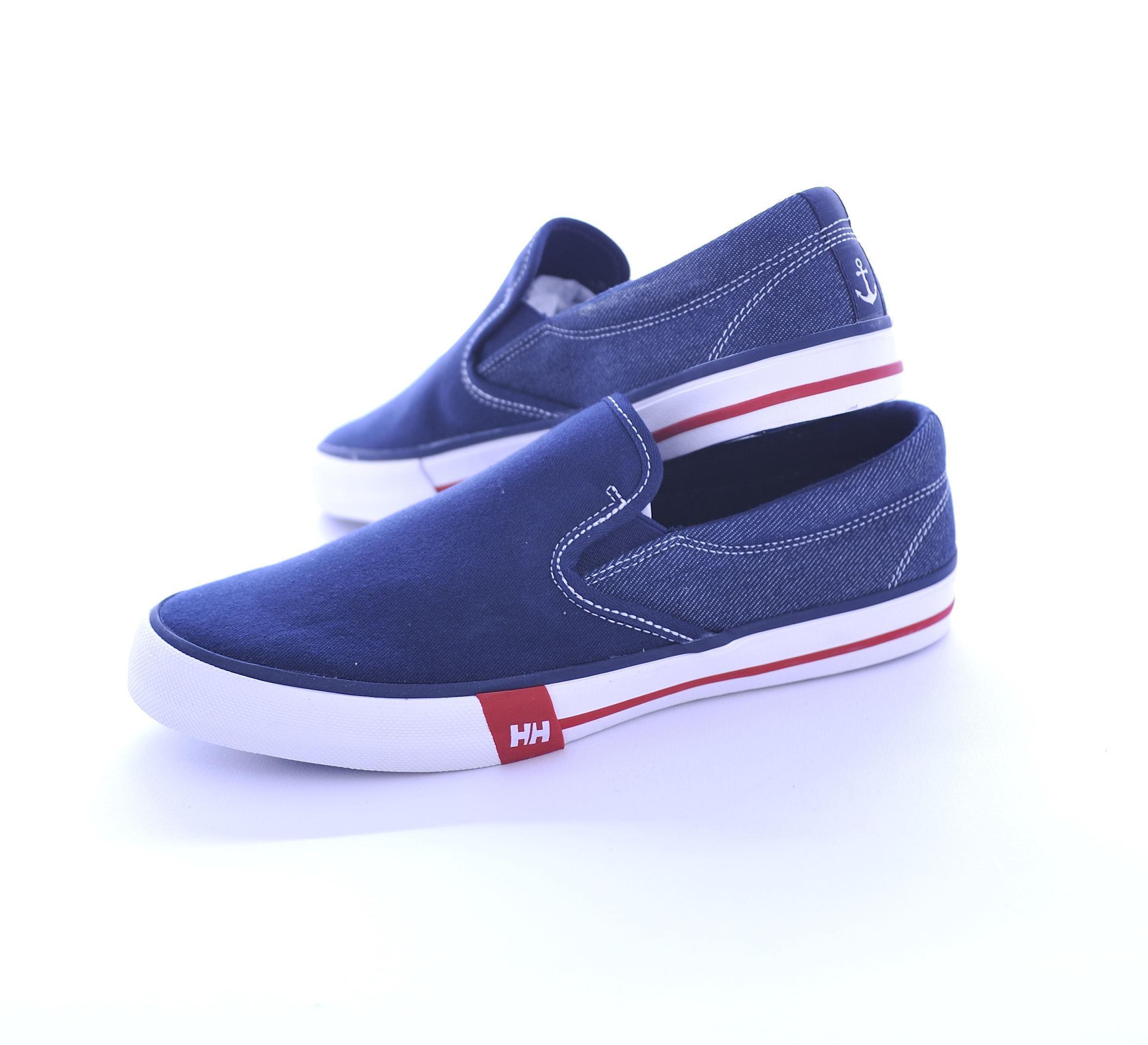 Picture of Copenhagen blue slip-on shoe