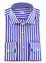 Picture of White and blue striper shirt