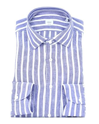 Picture of Striped shirt in washed linen