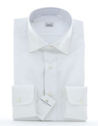 Picture of White cotton twill shirt
