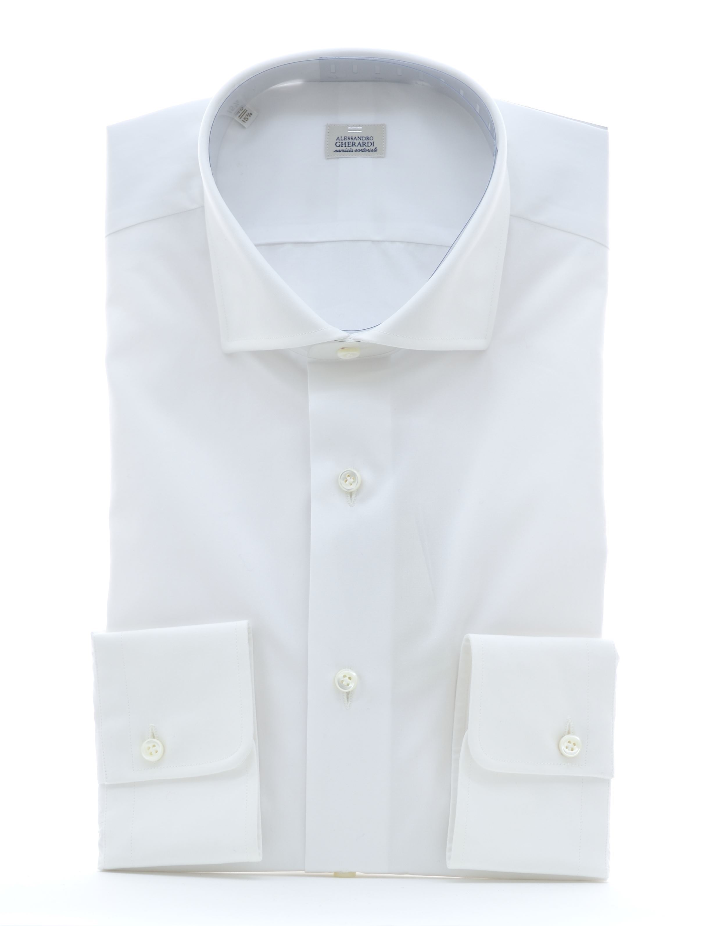 Picture of Shirt in white zephyr cotton