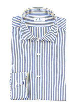 Immagine di Camicia manica lunga fondo azzurro