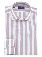 Picture of Shirt with white and pink stripes