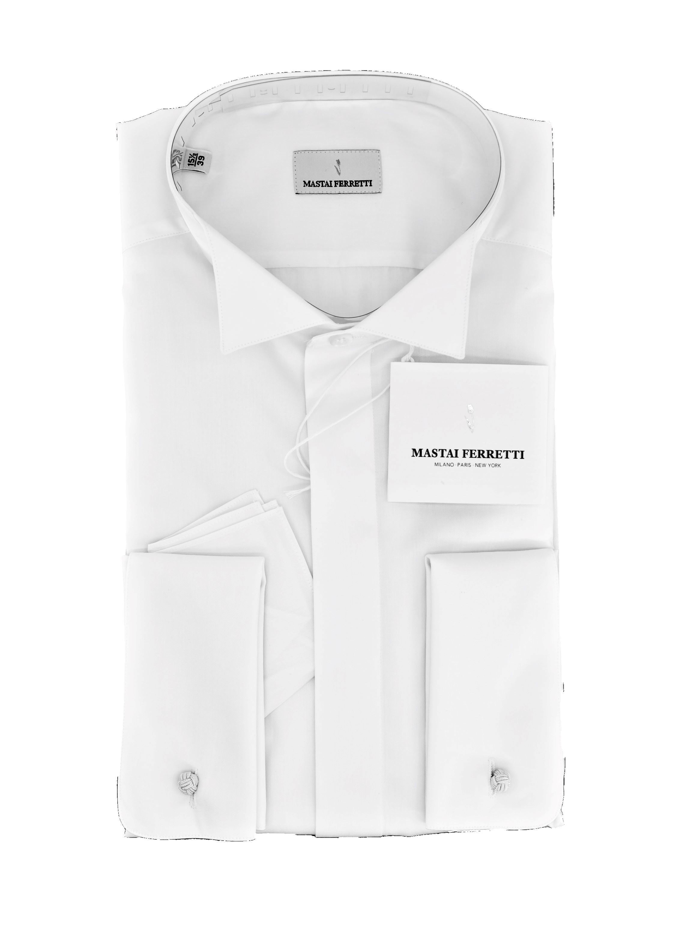 Picture of WHITE SHIRT WING COLLAR