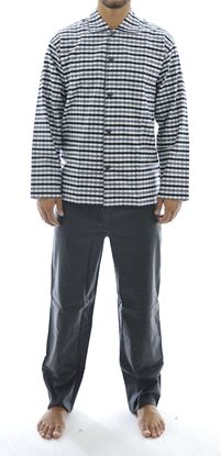 Picture of men's cotton flannel pajamas