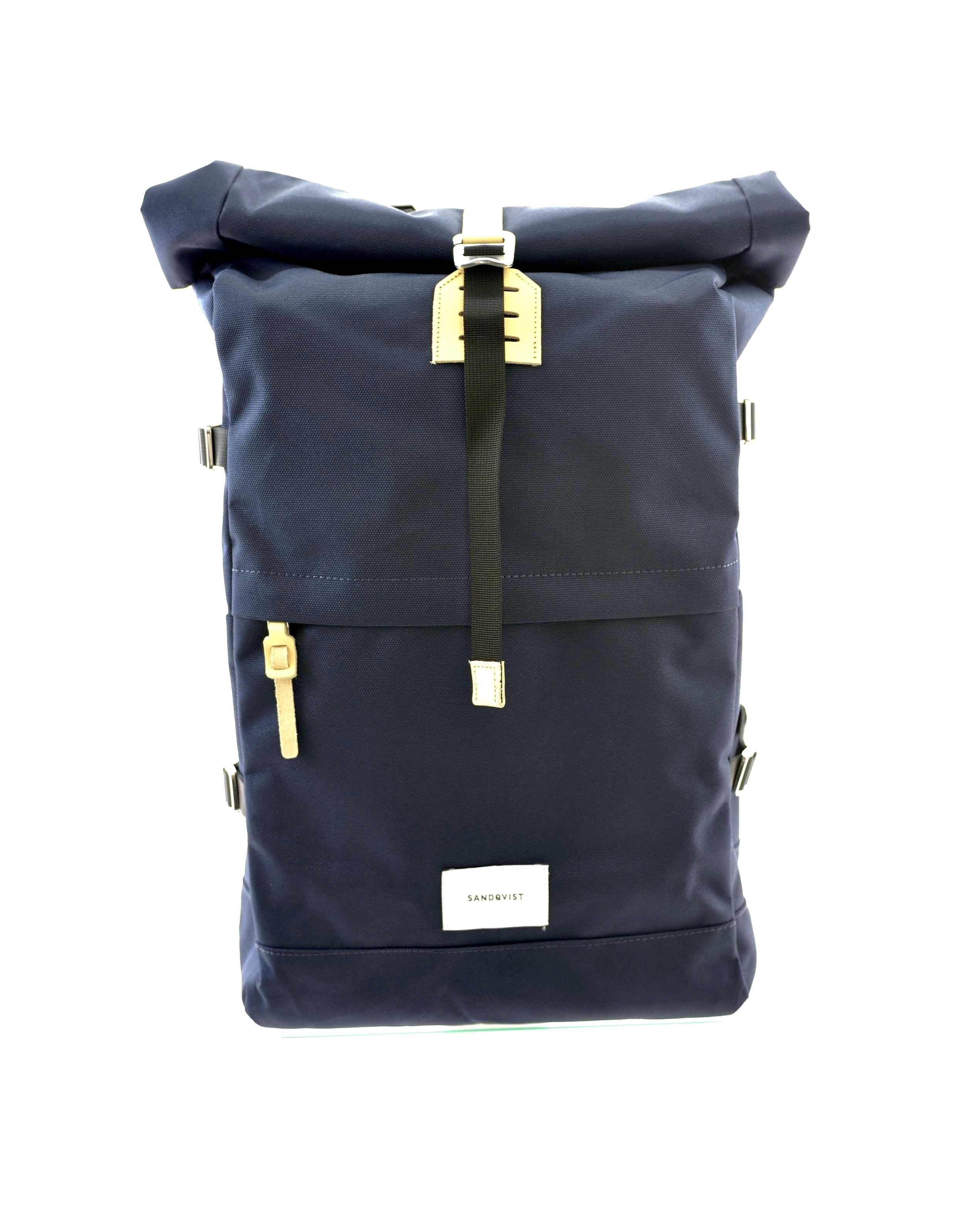 Picture of Bernt Navy With Natural Leather