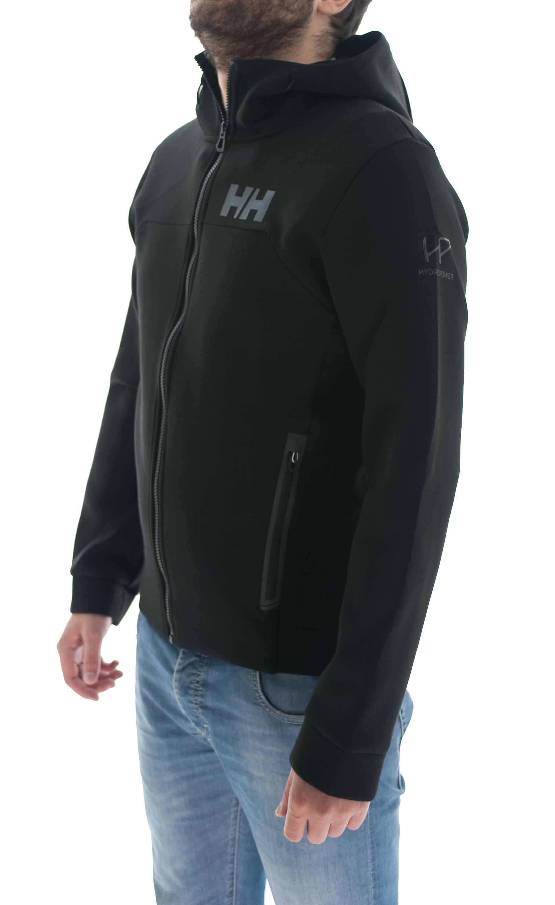 Picture of HP Ocean FZ Hoodie Black sweatshirt