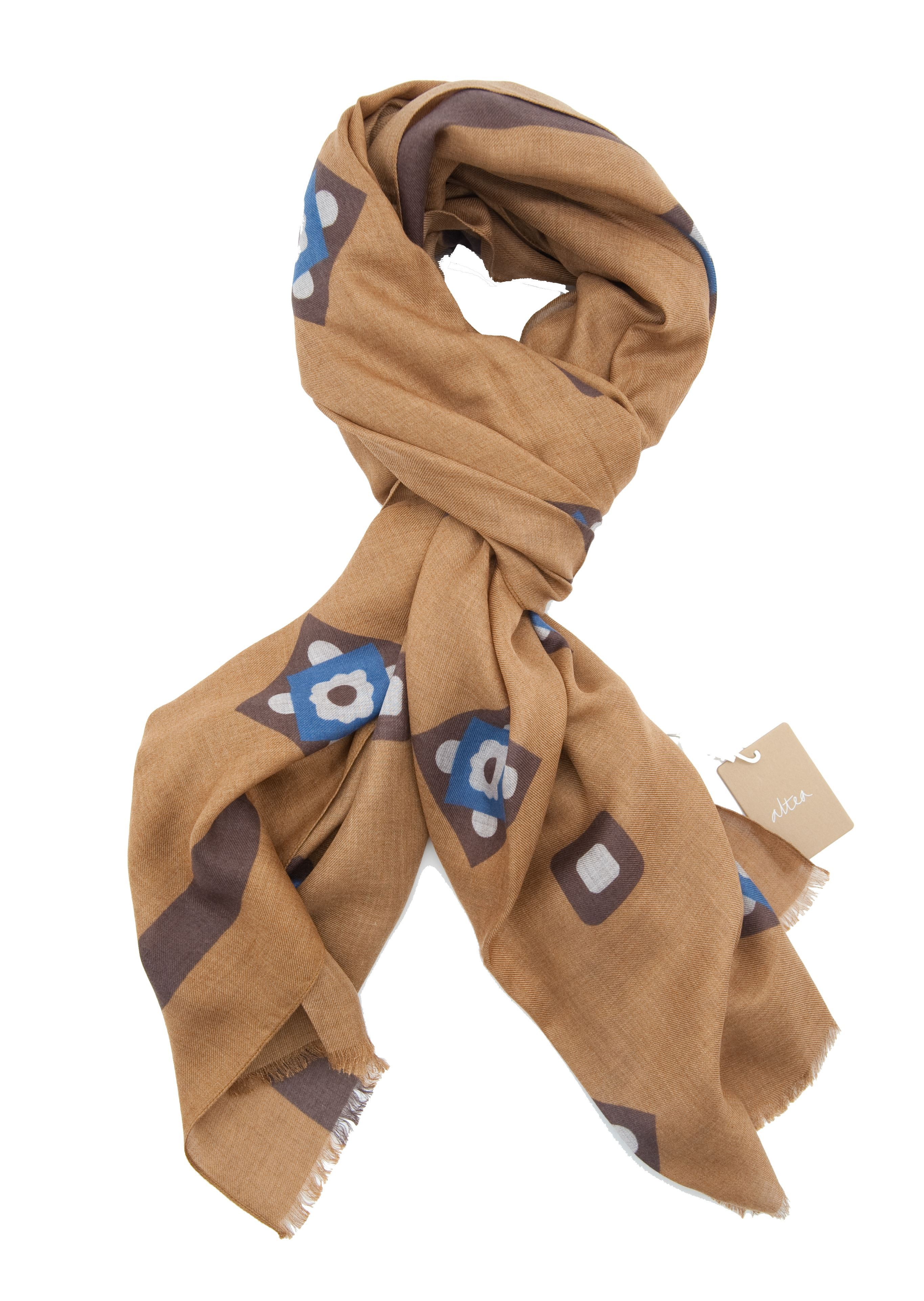 Picture of Light brown Modal scarf