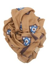Picture of Altea modal scarf light brown background