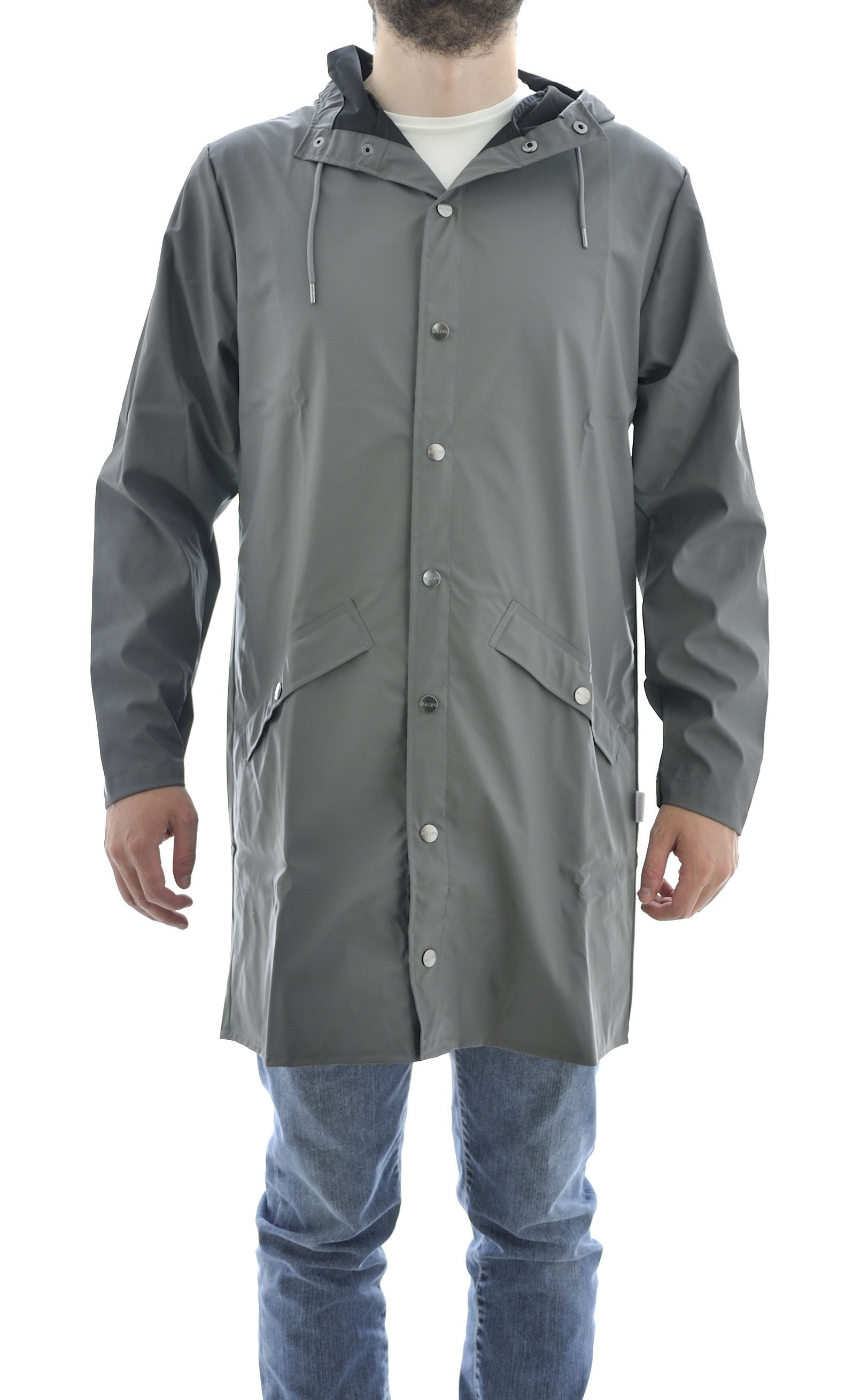 Picture of Long Jacket, rainproof, unisex, grey