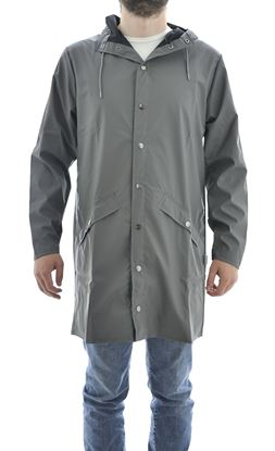 Picture of Long Jacket, rainproof, unisex, grey