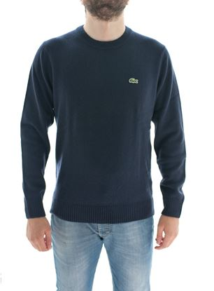Picture of Dark Blue wool crewneck sweater