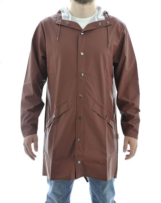 Picture of Long Jacket antipioggia unisex Marrone