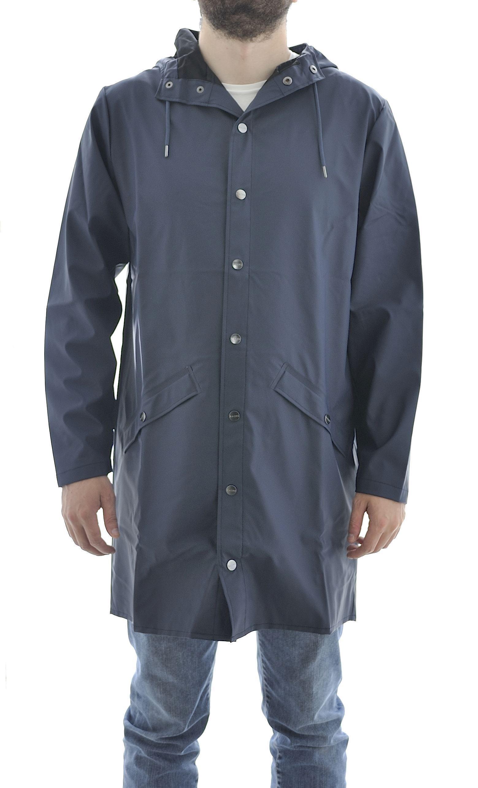 Picture of Long Jacket antipioggia  unisex Blue