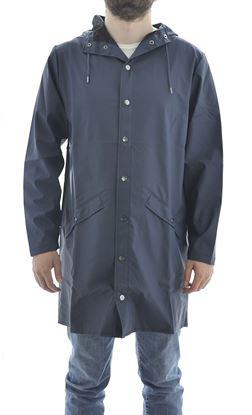 Picture of Long Jacket antipioggia  unisex Blue