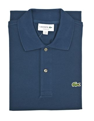 Picture of Blue Lacoste Polo