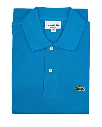 Picture of Light Blue Lacoste polo