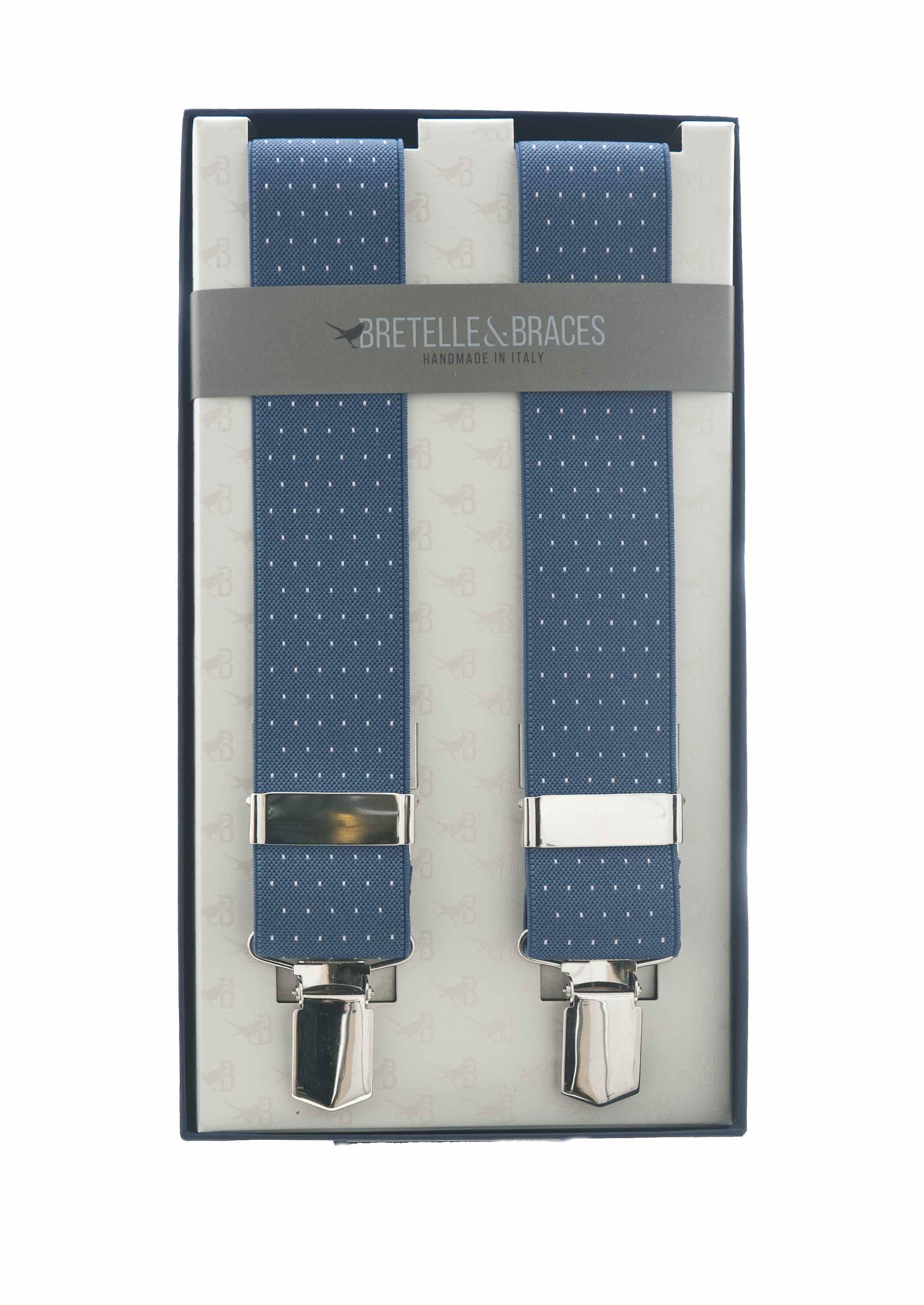 Immagine di Bretelle in elastico fondo blu chiaro