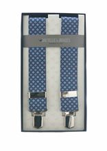 Picture of Elastic braces blue background