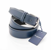 Picture of BLUE LEATHER BELT