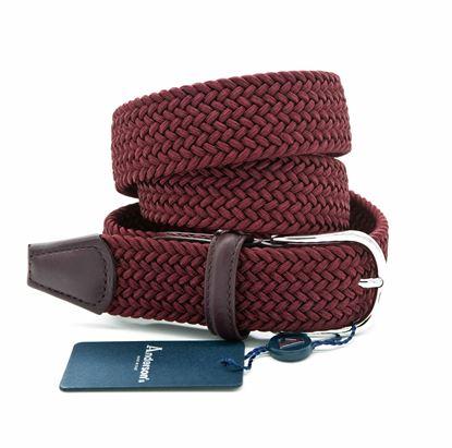 Immagine di Cintura in elastico bordeaux