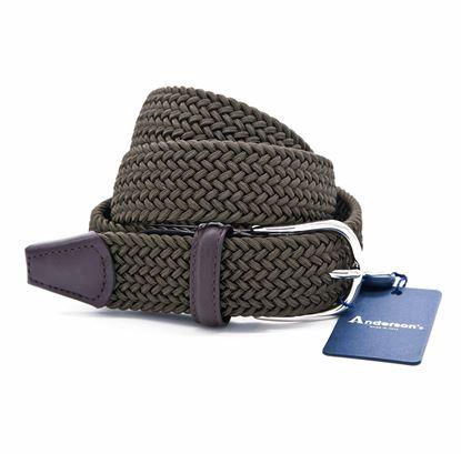 Immagine di Cintura in elastico verde militare
