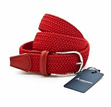 Picture of Red braided elastic belt