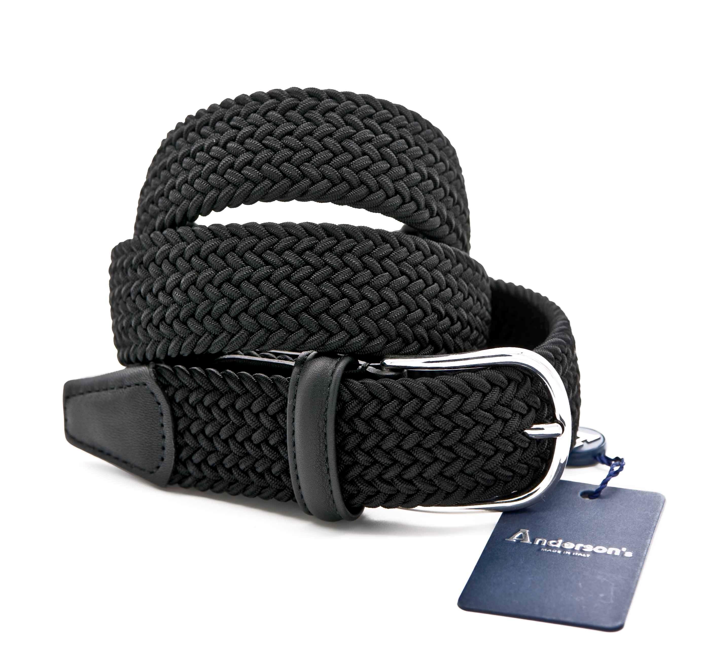 Picture of Black Braided elastic belt